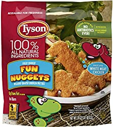 Tyson Fully Cooked Fun Dinosaur Chicken Nuggets, 29 Oz