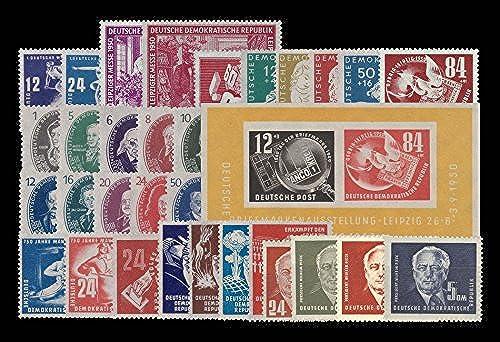 Briefmarken DDR kompletter Jahrgang 1950, Postfrisch