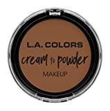 L.A. COLORS Cream To Powder Foundation - Toast
