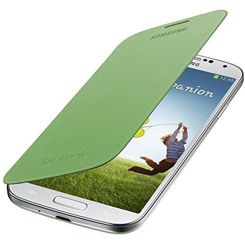 Samsung Original EF-FI950BGEGWW Flip Cover (kompatibel mit Galaxy S4) in gelb-grün