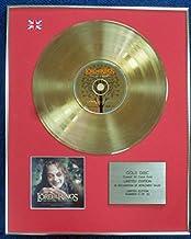 De el Señor de los anillos–Edición limitada CD 24quilates de oro recubierto disco LP