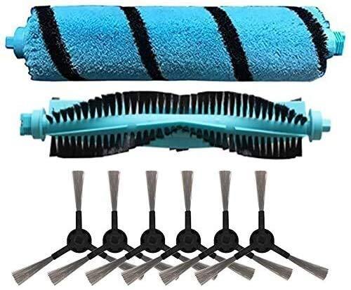 YBINGA Cepillo de rodillo de repuesto cepillo lateral para cecotec Conga 4090 aspirador robot barredora recambios para aspirador