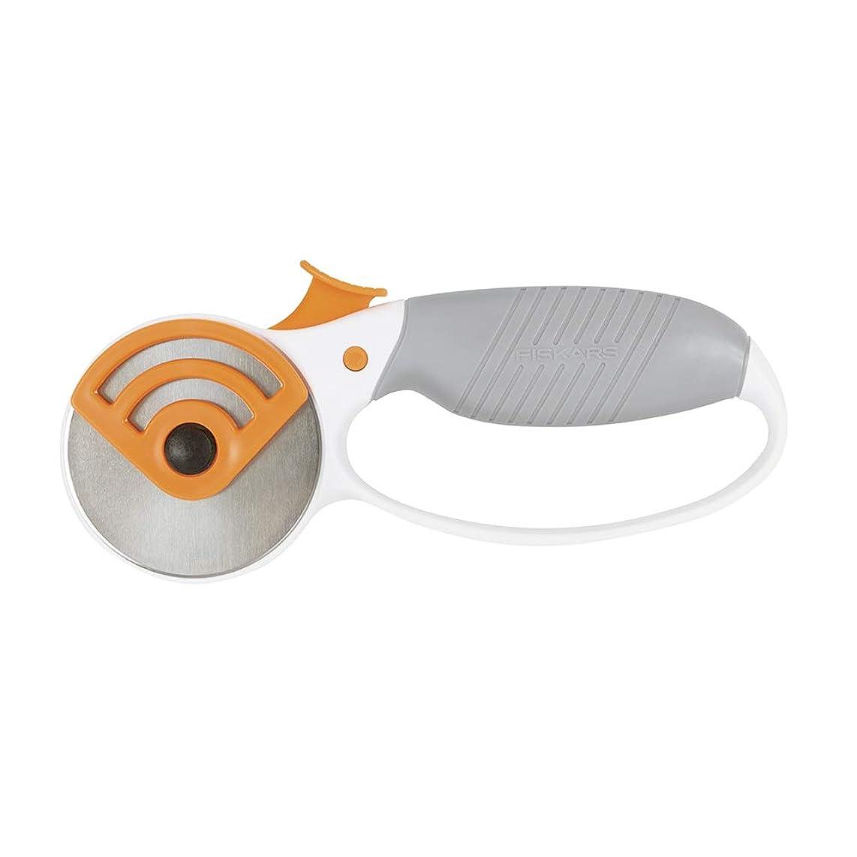 Fiskars Crafts 190160-1001 Heavy-Duty Comfort Loop Rotary Cutter (65 mm), 60mm