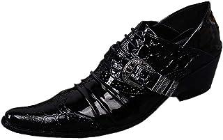 Rui Landed Oxford pour Hommes Brogue Chaussures À Lacets Style Haute Qualité en Cuir Véritable De Luxe Monk Strap Délicat ...