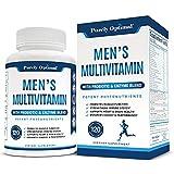 Premium Multivitamin for Men - Vitamin C, D3, B12, Minerals, Organic Whole Foods, Antioxidants, Probiotics - Complete Men's Multivitamins Supplement, Energy & Immune Support - Non-GMO, 120 Capsules