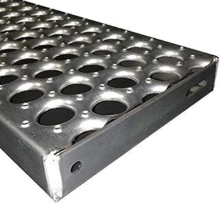 galvanized stair treads