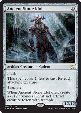 Magic: The Gathering - Ancient Stone Idol - Commander 2018