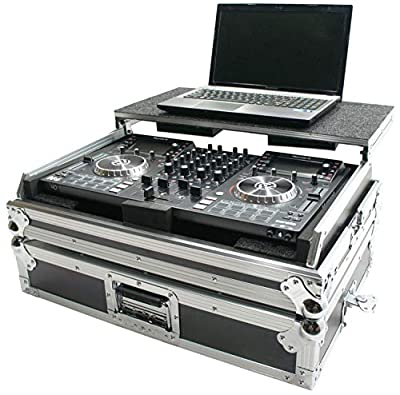 Harmony Cases HCNVLT Flight Glide Laptop Stand Road DJ Custom Case Numark NV II from Harmony Audio