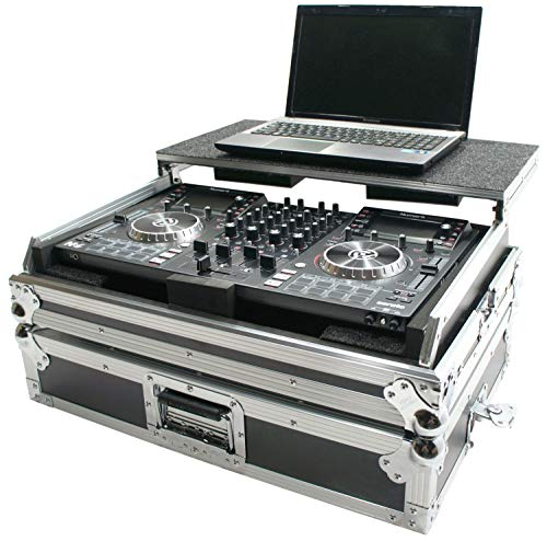Harmony DJ HCNVLT Flight Glide Laptop Stand Road DJ Custom Case Compatible with Numark NV
