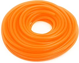 AUTUT High Performance Gas Oil Injection Orange Fuel Lines 18 Metres Silicone Tubing Fuel Gas Hose Tube Petrol Hose Tube for Car