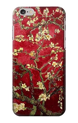 Red Blossoming Almond Tree Van Gogh Case Cover Custodia per IPHONE 6 6S
