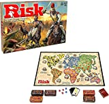 XQXC Cluedo Clásico Juego De Mesa, Juego De Razonamiento y Resolución para 2-6 Personas, Juegos De Guerra Antiguos, Juego De Mesa Misterioso (Risk)