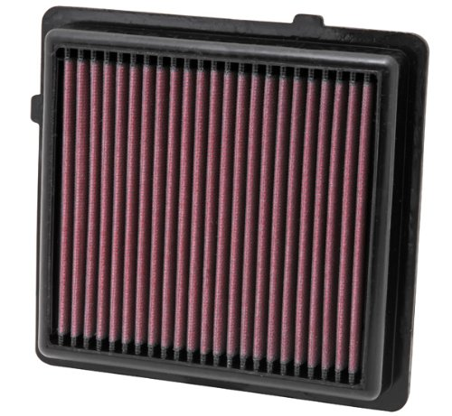 K&N Engine Air Filter: High Performance, Premium, Washable, Replacement Filter: 2011-2017 OPEL/CADILLAC/CHEVROLET/VAUXHALL (Ampera, ELR, Volt)  , 33-2464