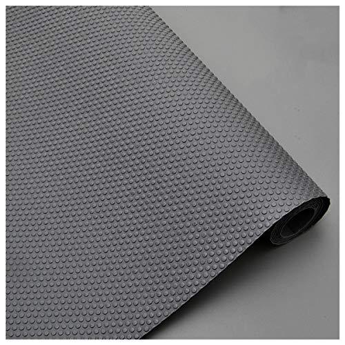 LOKIH Plastico Protector para Cocina Cajones Alfombras Non Adhesivo para Nevera Mueble Fregadero Estante Organizador Cubiertos EVA Cubre Encimera Gris 1 Rollo,45x500cm