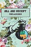 Bill and receipt organizer: Finance Monthly & Weekly Budget Planner Expense Tracker Bill Organizer Journal Notebook | Budget Planning