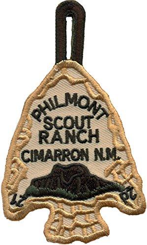 Philmont Scout Ranch Cimarron NM Pfadfinder Speerspitze Aufnäher Patch Abzeichen