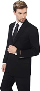 P&L Men's Premium Classic Fit Suit Separate (Blazer & Pants)
