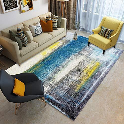 PANGLDT tapijten woonkamer grote tapijt Abstract Style Series 4 tapijt anti slip ondervloer slaapkamer kinderen gang tapijt