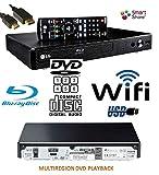 LG BP350 SMART Share Blu-Ray (EU REGION)/DVD (MULTIREGION) /CD Player, WiFi Enabled, Multi