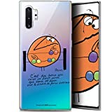 Caseink Coque pour Samsung Galaxy Note 10+ / Plus (6.8) [Licence Officielle Collector Les Shadoks®...