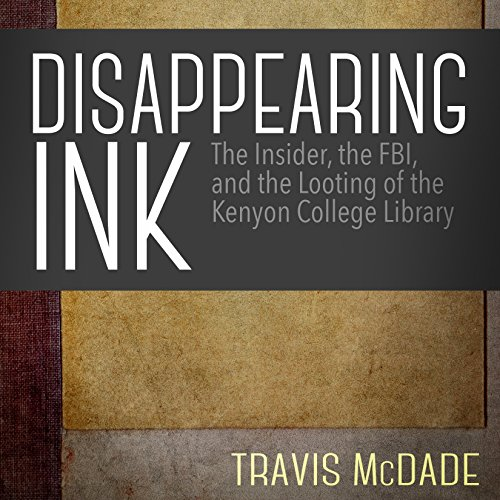 Disappearing Ink audiobook cover art
