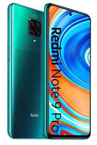 Xiaomi Redmi Note 9 Pro Dual SIM 64GB 4G/LTE SIMFree Factory Unlocked Smartphone (Tropical Green) - International Version