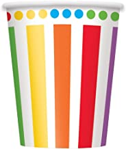 9oz Rainbow Party Cups 8ct