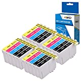 Fimpex Compatible Inchiostro Cartuccia Sostituzione Per Epson WorkForce WF-2010W WF-2510WF WF-2520NF WF-2530WF WF-2540WF WF-2630WF WF-2650DWF WF-2660DWF WF-2750DWF WF-2760DWF 16XL (B/C/M/Y, 20-Pack)