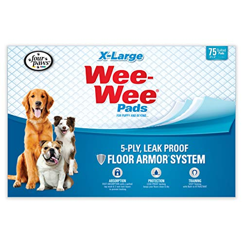 Wee-Wee Puppy Training Pee Pads 75-Count 28