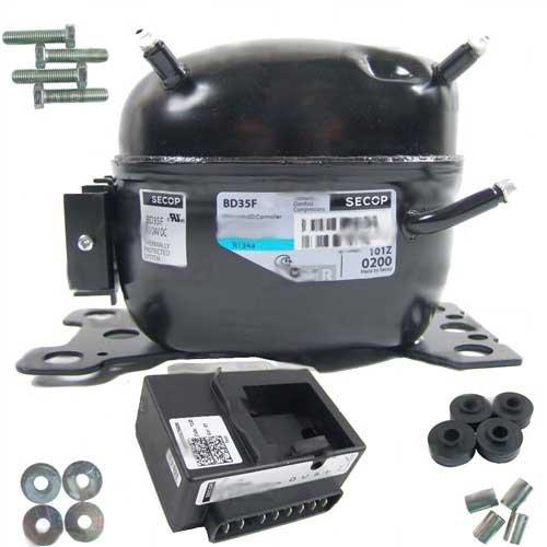 Verdichter Kompressor Danfoss Secop BD35F mit Modul