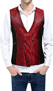 Men's Waistcoat V Neck Slim Stylish Vest Vests Modern Casual Fit Jacket Business Blazer Waistcoat Men Blazer Vest