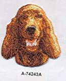 Sewing Embellishments & Finishes Irish Setter Dog Breed Embroidery Patch (Great for Towels, Blankets, Pillows, Purses, Backpacks, Jackets)
