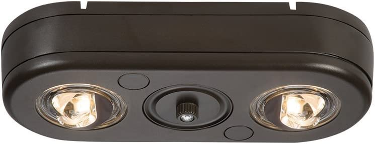 ALL-PRO Outdoor Security REV250PC Revolve Deluxe Head Twin LED Max 73% OFF Dusk-to-