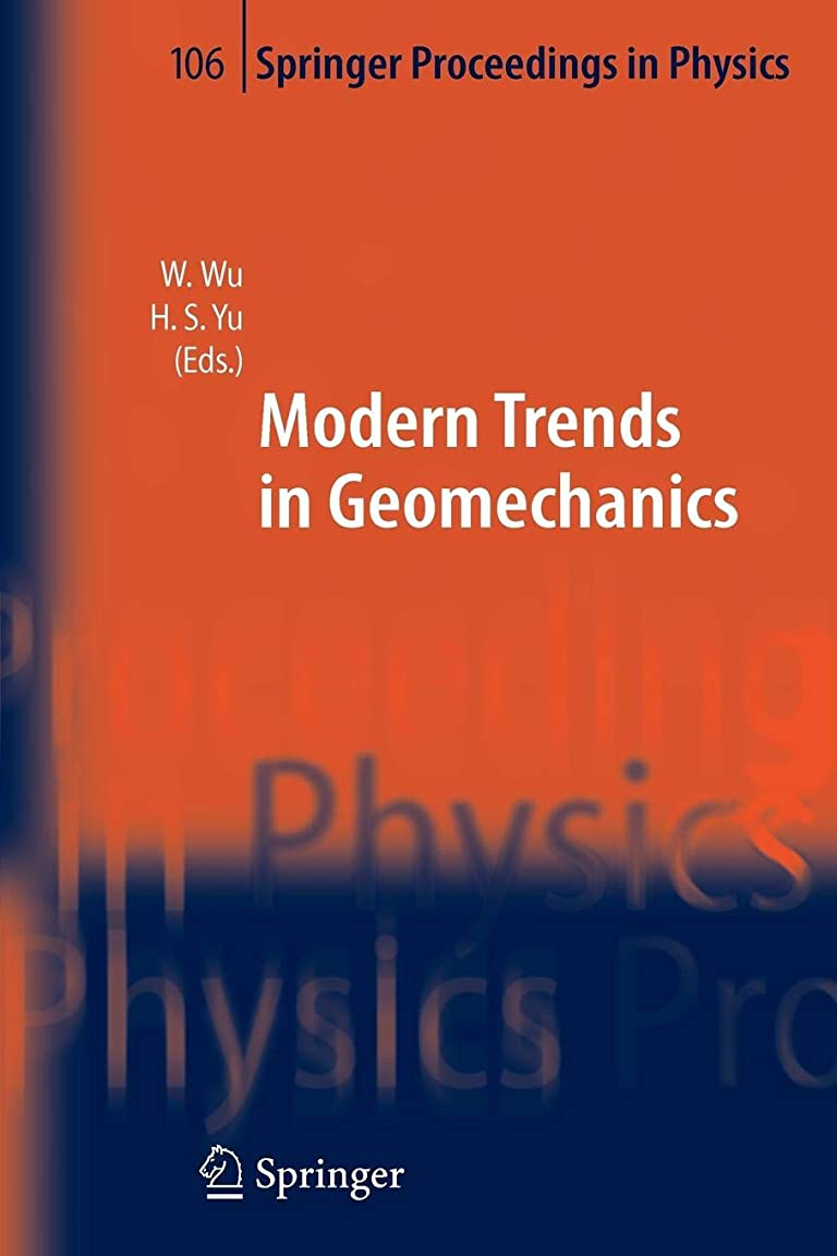なめらか突き刺す詳細なModern Trends in Geomechanics (Springer Proceedings in Physics)
