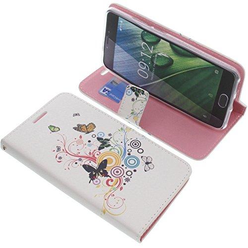 foto-kontor Tasche für Acer Liquid Z6 Plus Book Style Schmetterlinge Schutz Hülle Buch