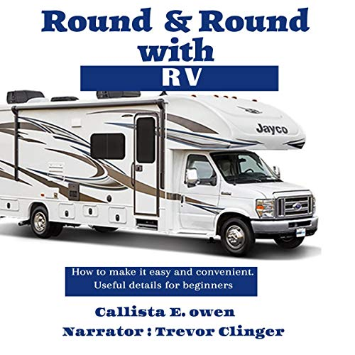 Round and Round with RV audiobook cover art