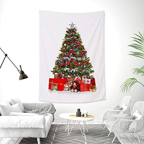 Kerst Tapestry Decor Tapestry Patroon Bank Gooi Deken, Lichtgewicht Polyester Stof Hippie Hangende muur decor, Strand Gooi, Tafel Runner/Cloth