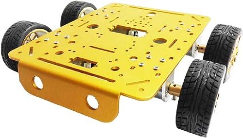 Homyl Chassis Voiture Intelligente Réservoir de Robot Clés hexagonales Bricolage - 12V