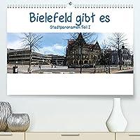 Bielefeld gibt es! Stadtpanoramen (Premium, hochwertiger DIN A2 Wandkalender 2022, Kunstdruck in Hochglanz): Bielefeld feiert dieses Jahr seinen 800sten Geburtstag. (Monatskalender, 14 Seiten )