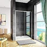 Box Doccia Porta Scorrevole Per Nicchia 120x185cm In Cristallo Temperato Trasparente Da 5m...