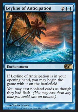 Magic: the Gathering - Leyline of Anticipation - Magic 2011 - Foil