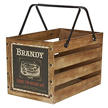 Household essential large decorative wood crates for storage