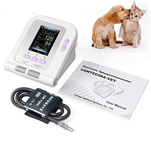 QNMM Digitale Veterinär-Blutdruckmessmanschette, Elektronisches Blutdruckmessgerät Für Die Tierpflege Von Hunden/Katzen/Haustieren, 3 Modus 3-Manschetten