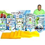Premium, Senior Exercise DVD System- 5 DVDs + Resistance Band + Balance...