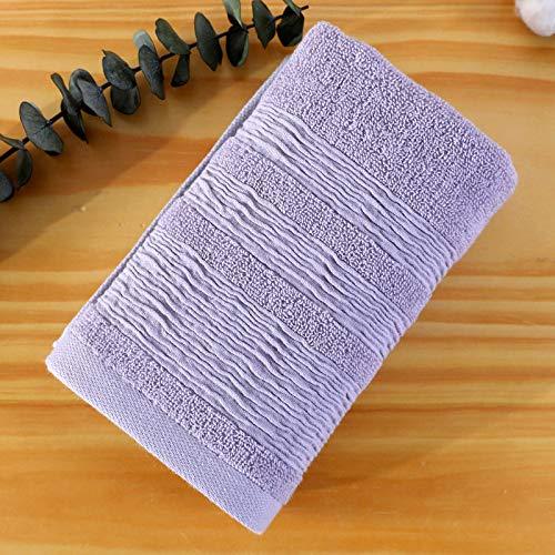 CMZ Verdickte saugfähige Baumwolltücher in Hotelsupermärkten erhältlich Weiche schweißabsorbierende weiche Handtücher (34x76 cm)