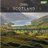 National Geographic Scotland 2022 - Calendario da parete, 30,5 x 30,5 cm, confezione gratuita
