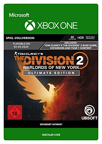 Tom Clancy's The Division 2 Warlords of New York Ultimate Edition | Xbox One - Download Code