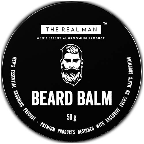 The Real Man Beard Balm and Conditioner,50g