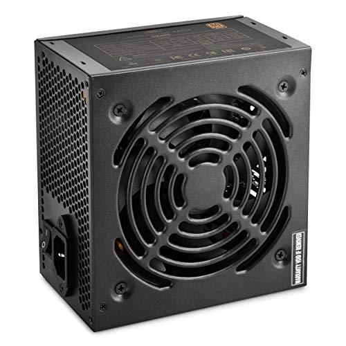 Deepcool DA500N 500W Alimentatore Atx Pc Desktop da Gaming, 500 Watt 80 Plus Bronze con Ventola PWM da 120 mm PFC Attivo