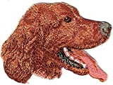 Irish Setter Dog Breed Patch Embroidered Applique